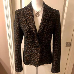 Beautiful Les Copains jacket with bronze metallic
